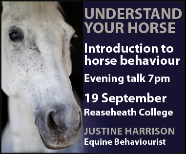 Justine Harrison Talk Reaseheath (Merseyside Horse)